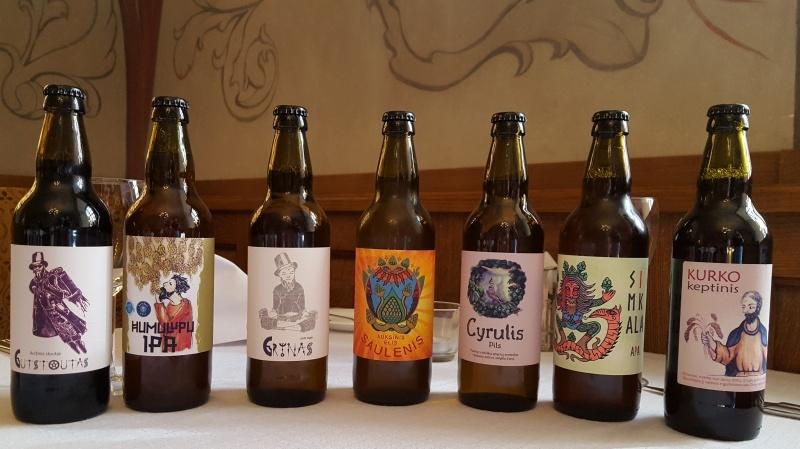 Lietuviško alaus degustacija